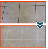 Tile Grout Cleaning in The Woodlands Texas